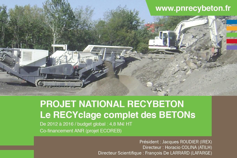 Plaquette du Projet National RECYBETON