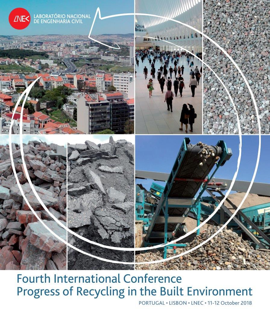 4th International Conference Progress of Recycling in the Built Environment - Call for abstracts