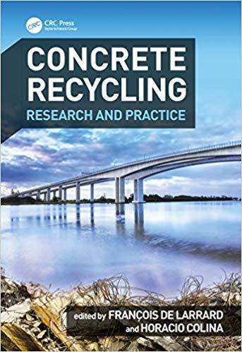 "Parution de l'ouvrage ""Concrete Recycling: Research and Practice"""